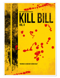 Poster Kill Bill 2 - Tarantino Minimal Film Movie Alternative