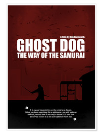 Premium poster Ghost Dog - Minimal Movie Film Cult Alternative
