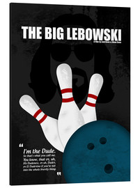 Alu-Dibond  The Big Lebowski - HDMI2K