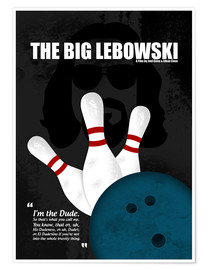 Poster  The Big Lebowski - HDMI2K