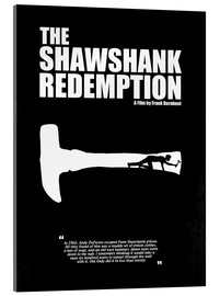 Acrylic glass  The Shawshank Redemption - Minimal Movie Film Fanart Alternative - HDMI2K
