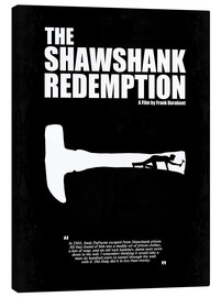 Canvas  The Shawshank Redemption - Minimal Movie Film Fanart Alternative - HDMI2K