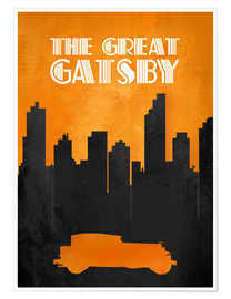 Premium poster The Great Gatsby - Minimal Movie Film Fanart Alternative