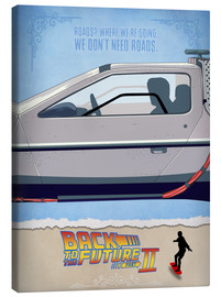 Canvas print  Back to the Future II - HDMI2K