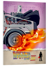 Acrylic print  Back to the Future III - HDMI2K