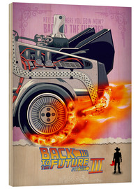 Wood print  Back to the Future III - HDMI2K
