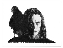 Premium poster THE CROW alternative movie art