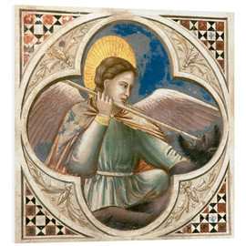 Foam board print  Archangel Michael - Giotto di Bondone
