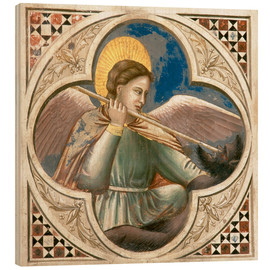 Wood print  Archangel Michael - Giotto di Bondone