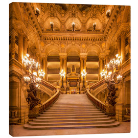 Jan Christopher Becke - Staircase of the Opera Garnier in Paris France