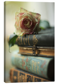 Canvas print  Old books - JuDosi