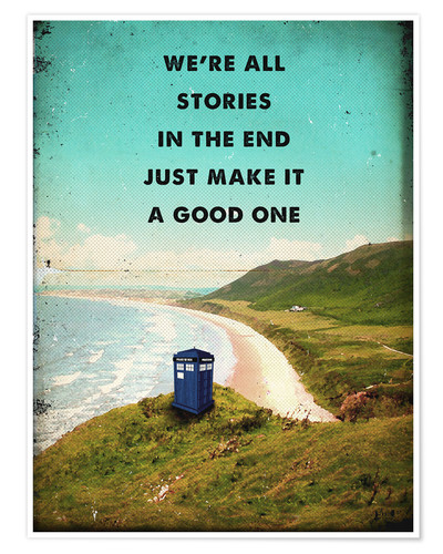 Premium poster Alternative Dr Who Tardis movie poster