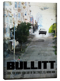 Canvas print  Bullitt - 2ToastDesign