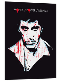 Foam board print  Scarface - 2ToastDesign