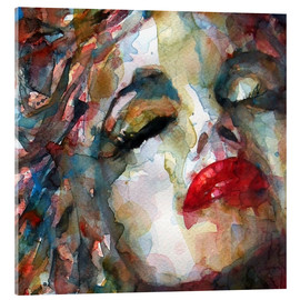 Acrylic glass  Last Chapter, Marilyn Monroe  - Paul Paul Lovering Arts