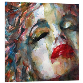 Foam board print  Last Chapter, Marilyn Monroe  - Paul Lovering Arts