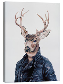 Canvas print  Deer - Animal Crew