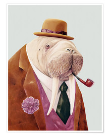 Premium poster  Mr. Walrus - Animal Crew