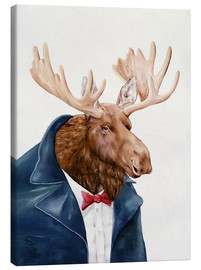 Canvas print  Moose - Animal Crew