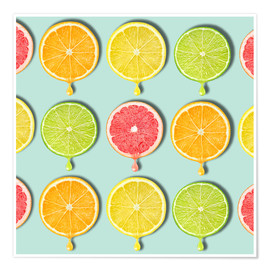 Premium poster  coloring fruit - Mark Ashkenazi