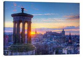 Canvas print  Calton Hill, Scotland Edinburgh