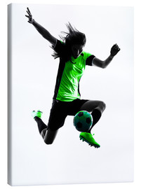 Canvas print  soccer player