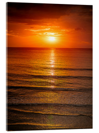 Acrylic print  Sunrise in the Sea