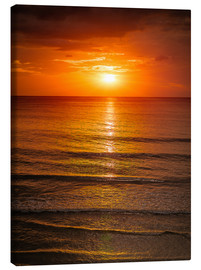 Canvas print  Sunrise in the Sea