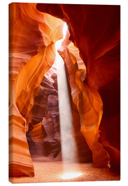 Canvas  Sunbeam in Antelope Canyon, Arizona