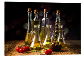 Acrylic print  Oils and spices