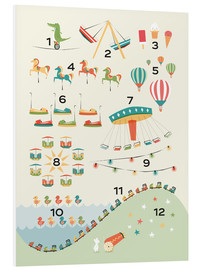 Foam board print  Learn to Count - Sandy Lohß