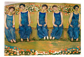 Acrylic print  The Holy Hour - Ferdinand Hodler