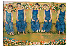 Canvas print  The Holy Hour - Ferdinand Hodler