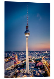 Acrylic print  Berlin at night - Sören Bartosch