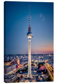 Canvas print  Berlin at night - Sören Bartosch
