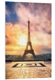 Forex  Eiffel Tower in Paris at sunset - Jan Christopher Becke