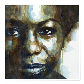 Premium poster  Nina Simone - Paul Lovering Arts