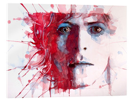 Acrylic glass  The Prettiest Star : David Bowie - Paul Paul Lovering Arts