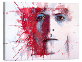 Canvas  The Prettiest Star : David Bowie - Paul Paul Lovering Arts