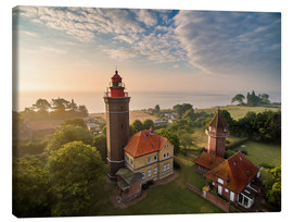 Canvas  Dahme Lighthouse Baltic Sea Aerial View - Dennis Stracke