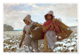 Premium poster The Cotton Pickers