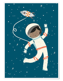 Poster astronaut