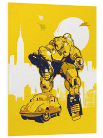 Foam board print  Transformers Bumblebee - 2ToastDesign