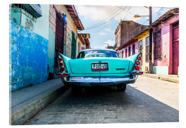 Acrylic glass  Oldtimer in Cuba - Reemt Peters-Hein