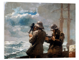 Foam board print  Eight Bells - Winslow Homer
