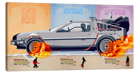Canvas  Back to the Future, DeLorean - HDMI2K