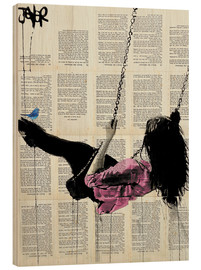 Wood  where nothing matters (rose) - Loui Jover