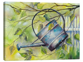 Canvas   WATERING CAN  - Jitka Krause