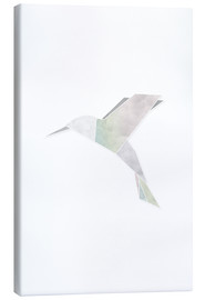 Canvas print  Origami hummingbird - Amy and Kurt