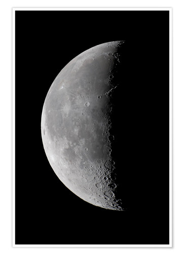 Premium poster Shadow on the Moon